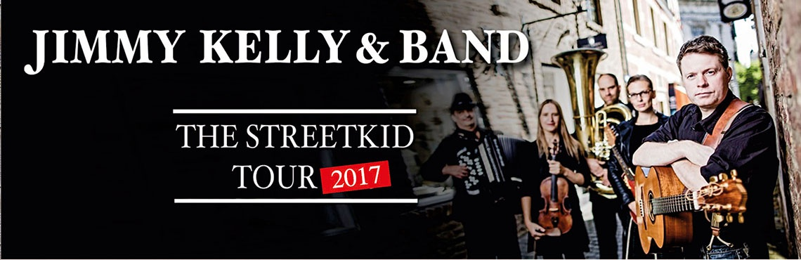 Jimmy Kelly & Band 'The Streetkid LIVE-Tour 2017'